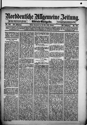 Norddeutsche allgemeine Zeitung vom 24.05.1890