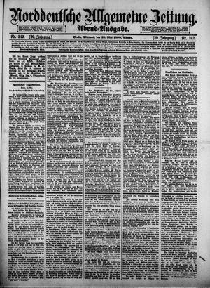 Norddeutsche allgemeine Zeitung vom 28.05.1890