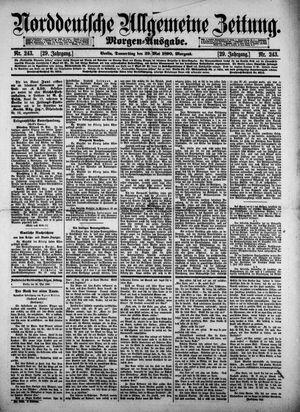 Norddeutsche allgemeine Zeitung vom 29.05.1890