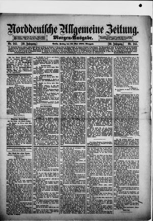 Norddeutsche allgemeine Zeitung vom 30.05.1890