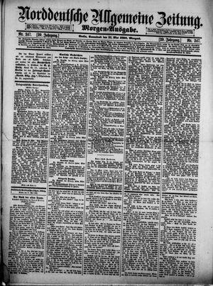 Norddeutsche allgemeine Zeitung vom 31.05.1890