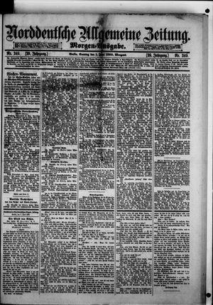 Norddeutsche allgemeine Zeitung vom 01.06.1890