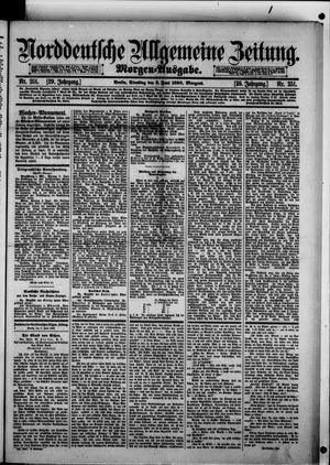 Norddeutsche allgemeine Zeitung vom 03.06.1890