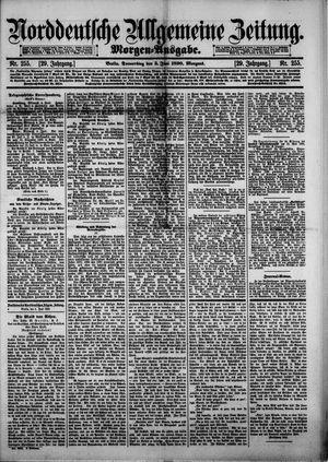 Norddeutsche allgemeine Zeitung vom 05.06.1890