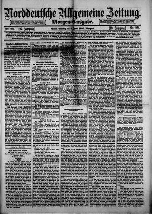 Norddeutsche allgemeine Zeitung vom 08.06.1890