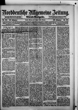 Norddeutsche allgemeine Zeitung vom 09.06.1890