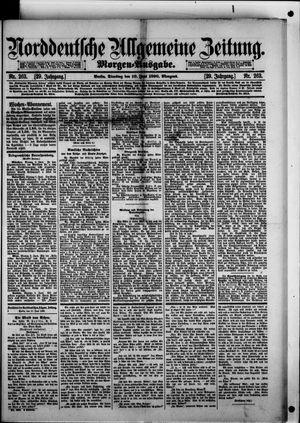 Norddeutsche allgemeine Zeitung vom 10.06.1890