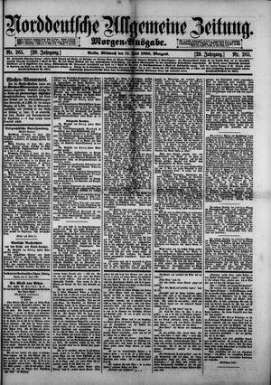 Norddeutsche allgemeine Zeitung vom 11.06.1890