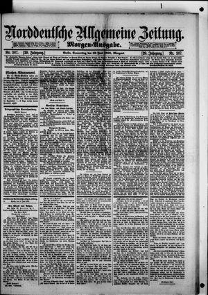 Norddeutsche allgemeine Zeitung vom 12.06.1890