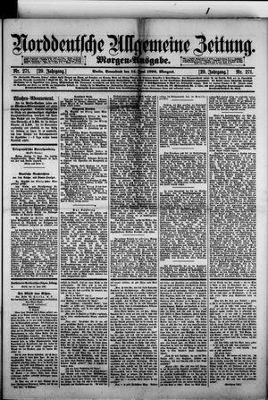 Norddeutsche allgemeine Zeitung vom 14.06.1890