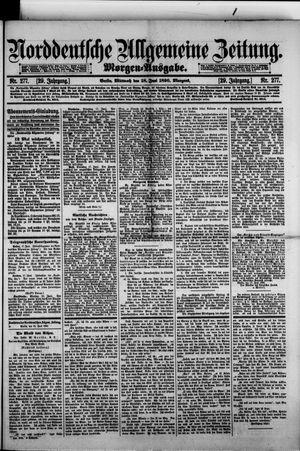 Norddeutsche allgemeine Zeitung vom 18.06.1890
