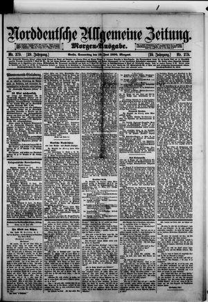 Norddeutsche allgemeine Zeitung vom 19.06.1890