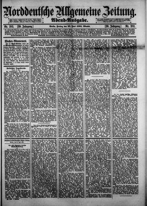 Norddeutsche allgemeine Zeitung vom 20.06.1890