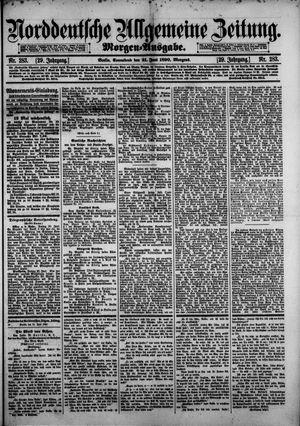 Norddeutsche allgemeine Zeitung vom 21.06.1890