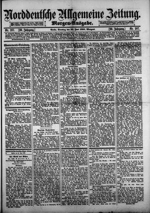 Norddeutsche allgemeine Zeitung vom 24.06.1890