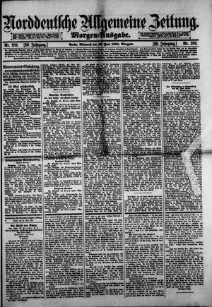 Norddeutsche allgemeine Zeitung vom 25.06.1890