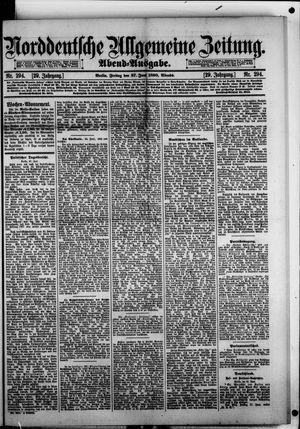 Norddeutsche allgemeine Zeitung vom 27.06.1890