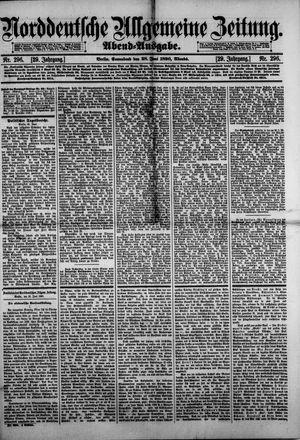 Norddeutsche allgemeine Zeitung vom 28.06.1890