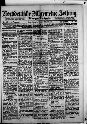 Norddeutsche allgemeine Zeitung vom 29.06.1890