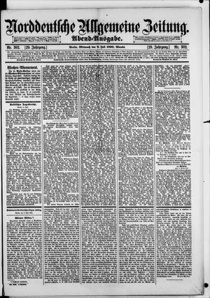 Norddeutsche allgemeine Zeitung vom 02.07.1890
