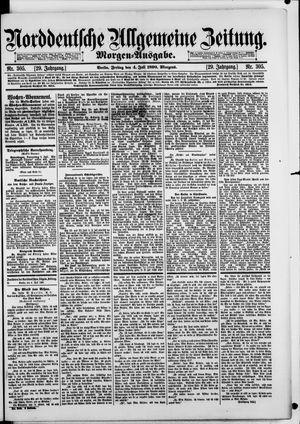 Norddeutsche allgemeine Zeitung vom 04.07.1890