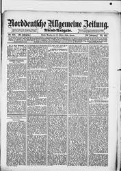Norddeutsche allgemeine Zeitung (21.10.1890)