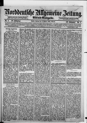Norddeutsche allgemeine Zeitung vom 02.01.1891