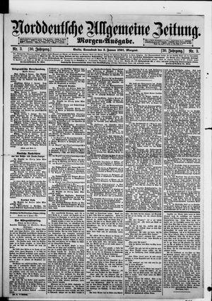 Norddeutsche allgemeine Zeitung vom 03.01.1891