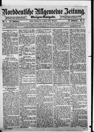 Norddeutsche allgemeine Zeitung vom 04.01.1891