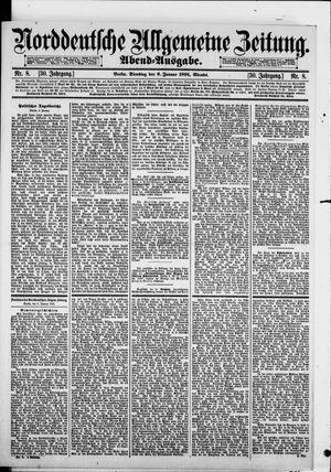 Norddeutsche allgemeine Zeitung vom 06.01.1891