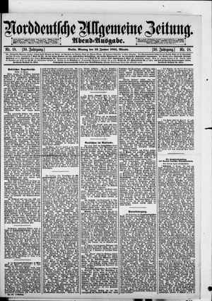 Norddeutsche allgemeine Zeitung vom 12.01.1891
