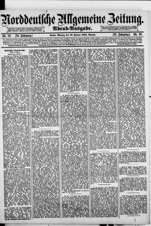 Norddeutsche allgemeine Zeitung vom 19.01.1891