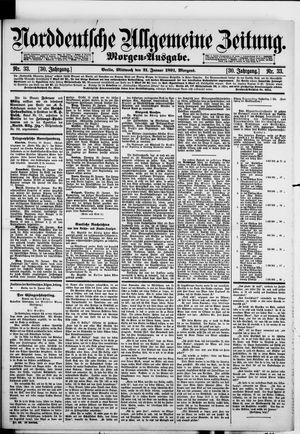 Norddeutsche allgemeine Zeitung vom 21.01.1891