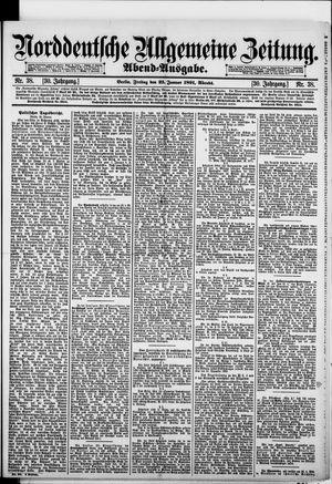 Norddeutsche allgemeine Zeitung vom 23.01.1891