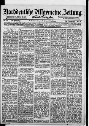 Norddeutsche allgemeine Zeitung vom 05.02.1891