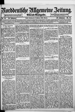 Norddeutsche allgemeine Zeitung vom 06.02.1891