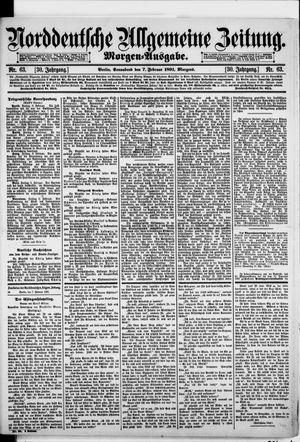 Norddeutsche allgemeine Zeitung vom 07.02.1891