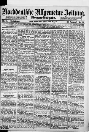 Norddeutsche allgemeine Zeitung vom 08.02.1891