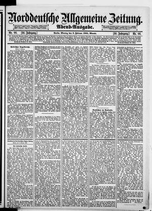 Norddeutsche allgemeine Zeitung vom 09.02.1891