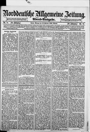 Norddeutsche allgemeine Zeitung vom 16.02.1891