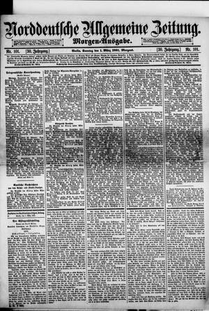 Norddeutsche allgemeine Zeitung vom 01.03.1891