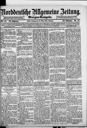 Norddeutsche allgemeine Zeitung vom 10.03.1891