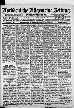 Norddeutsche allgemeine Zeitung vom 12.03.1891