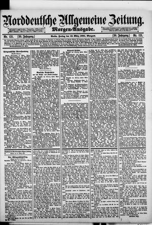 Norddeutsche allgemeine Zeitung vom 13.03.1891