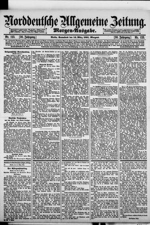 Norddeutsche allgemeine Zeitung vom 14.03.1891