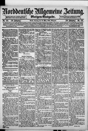 Norddeutsche allgemeine Zeitung vom 15.03.1891