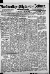 Norddeutsche allgemeine Zeitung (18.03.1891)