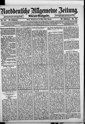 Norddeutsche allgemeine Zeitung vom 18.03.1891