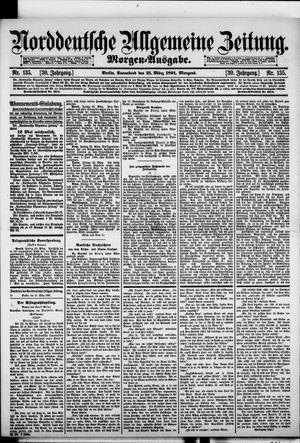Norddeutsche allgemeine Zeitung vom 21.03.1891