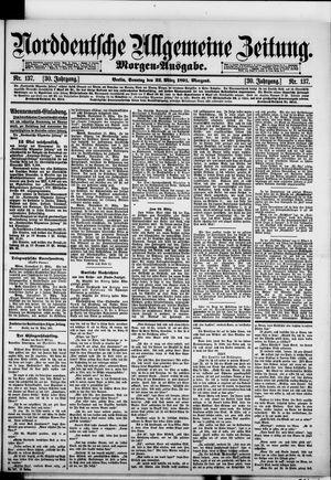 Norddeutsche allgemeine Zeitung vom 22.03.1891